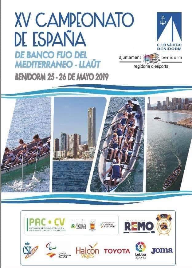 XV Campeonato de España de Remo Benidorm 2019