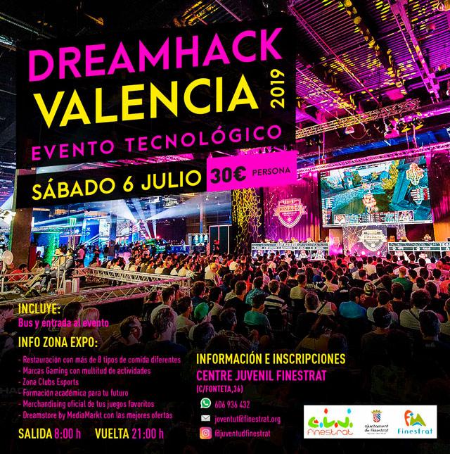 DreamHack Valencia visita Finestrat 2019