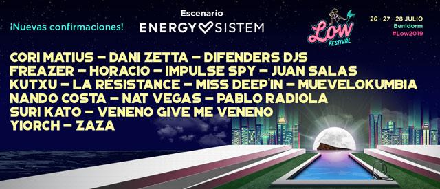 Low Festival presenta la programación de su Escenario Energy Sistem