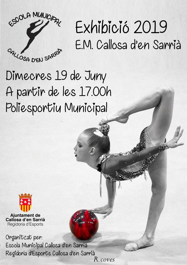 Exhibicion Gimnasia ritmica Callosa 2019