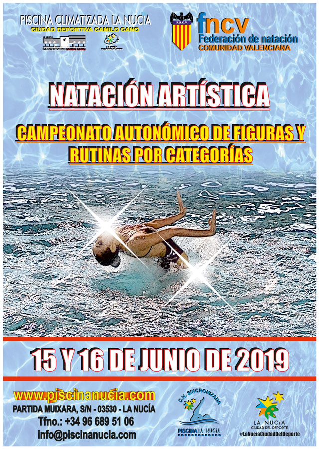 La Nucia Autonomico sincronizada 2019