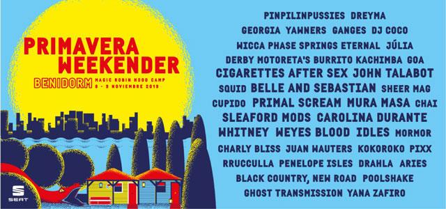 Primavera Sound y Producciones Baltimore unen fuerzas para la celebración de Primavera Weekender en Benidorm