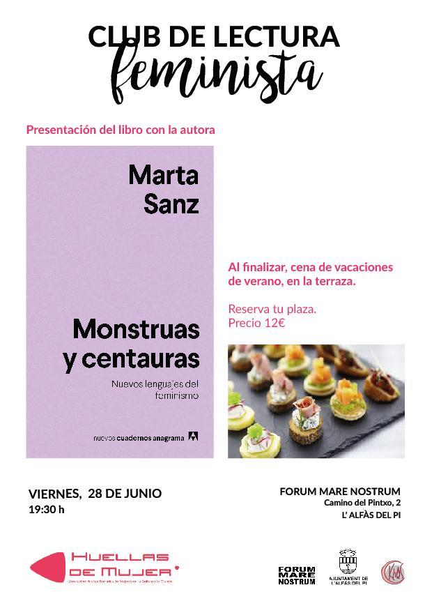 El Club de Lectura Feminista acoge la presentación del libro 'Monstruas y Centauras'