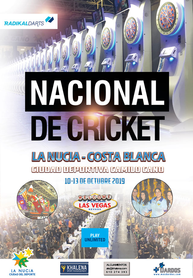 Campeonato Nacional de Dardos Electrónicos Radikaldars La Nucia 2019