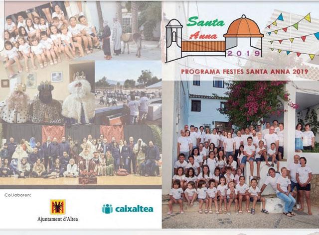 Fiestas Santa Anna Altea 2019