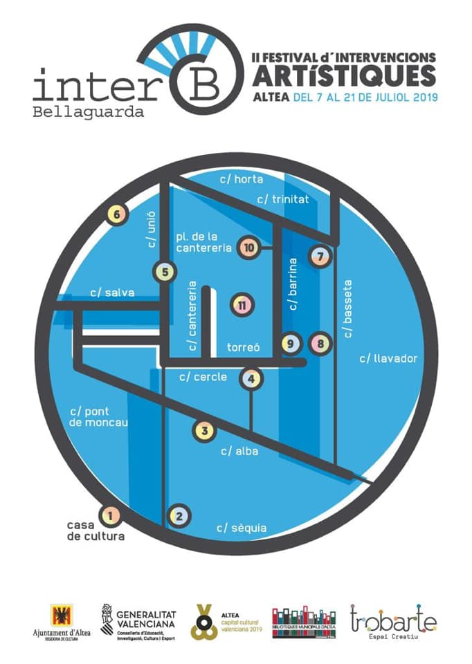 II Festival de Intervenciones Artisticas Bellaguarda Inter-B Altea 2019