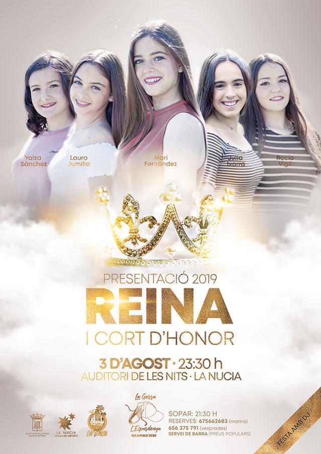 La Nucia Presentacion reina 2019