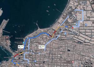 ¿cómo llegar a Zofri desde Plaza Prat?