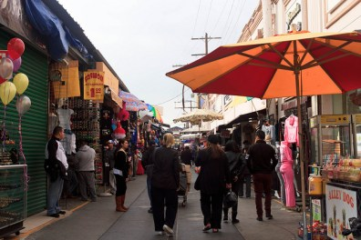 Santee Alley in the Fashion District