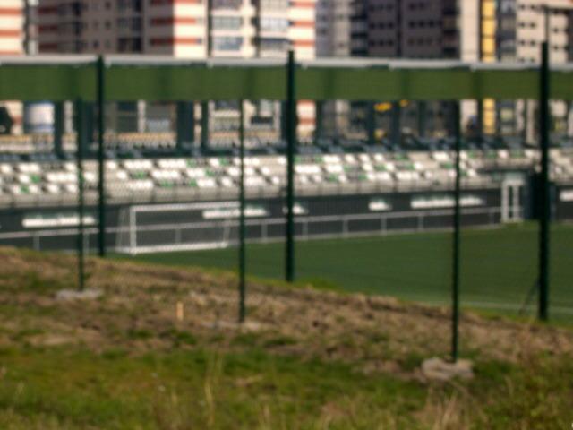 Nuevo campo de fútbol en Navia
