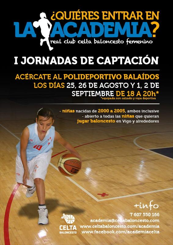 Academia de Baloncesto para niñas del R.C.Celta