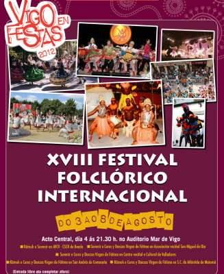 Cartel festival folclorico G