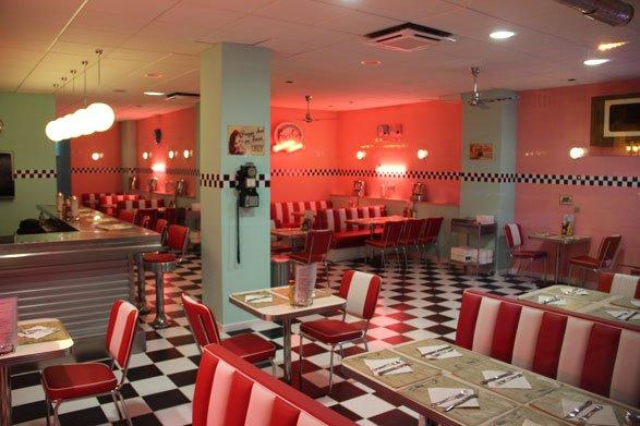 Peggy Sue's, un bar al estilo Grease.