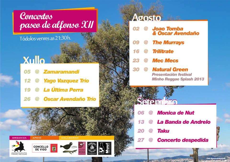 Concertos paseo de Alfonso XII