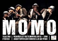 Momo: Teatro gestual en el Auditorio do Concello
