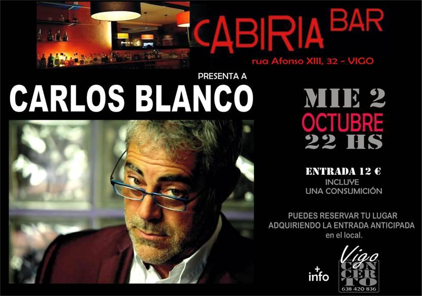 Actuación de Carlos Blanco