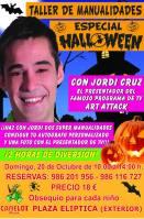 Taller de Halloween de la mano del presentador de Art Attack