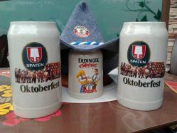 Oktoberfest en la Cervecería El Alemán