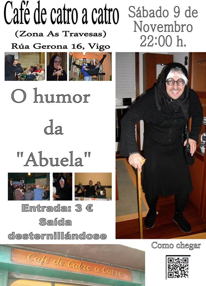 "O humor da ""Abuela"""