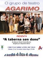 «Agarimo Teatro» a beneficio del Banco de Alimentos