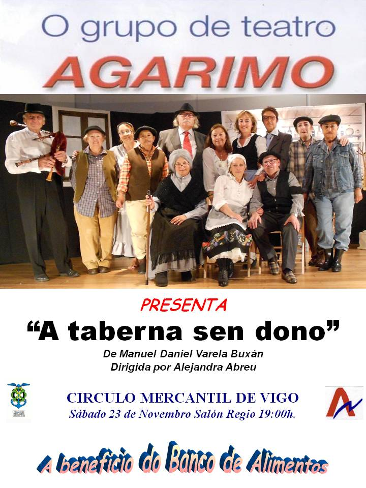 """Agarimo Teatro"" a beneficio del Banco de Alimentos"
