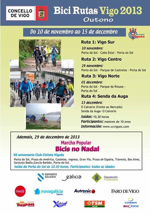 Bici rutas Vigo 2013