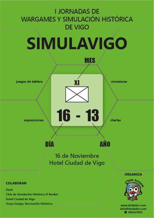 Jornadas de wargames y simulación histórica de Vigo