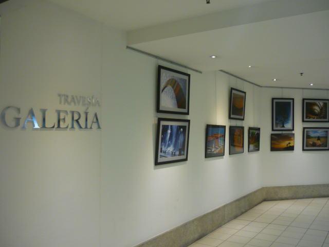 Expo de Merche Rodríguez en Travesía Galería