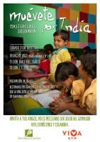 MasterClass solidaria de Bollywood y Cycling en VivaGym