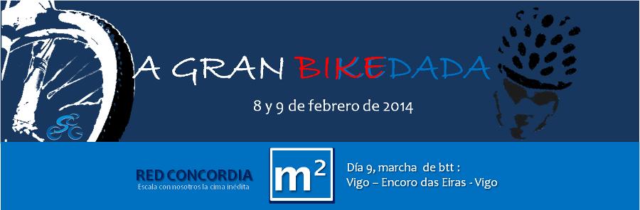 La Gran Bikedada en Vigo