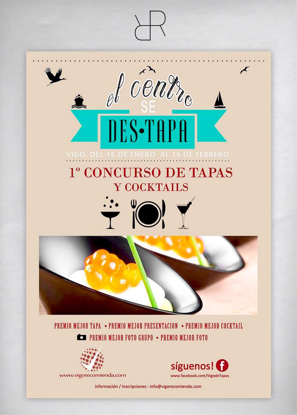 El Centro se Des-Tapa, Concurso de Tapas y Cocktails