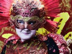 Fiesta de Carnaval en Samil