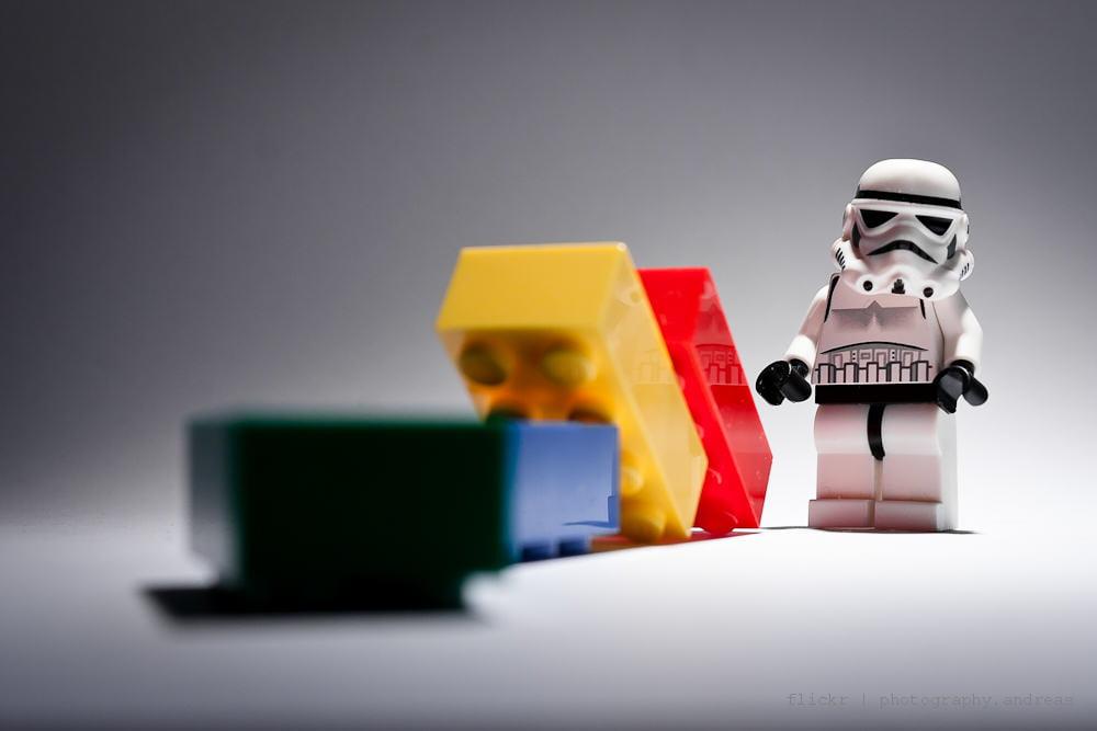 Disfraz de Lego, Playmobil o bloques
