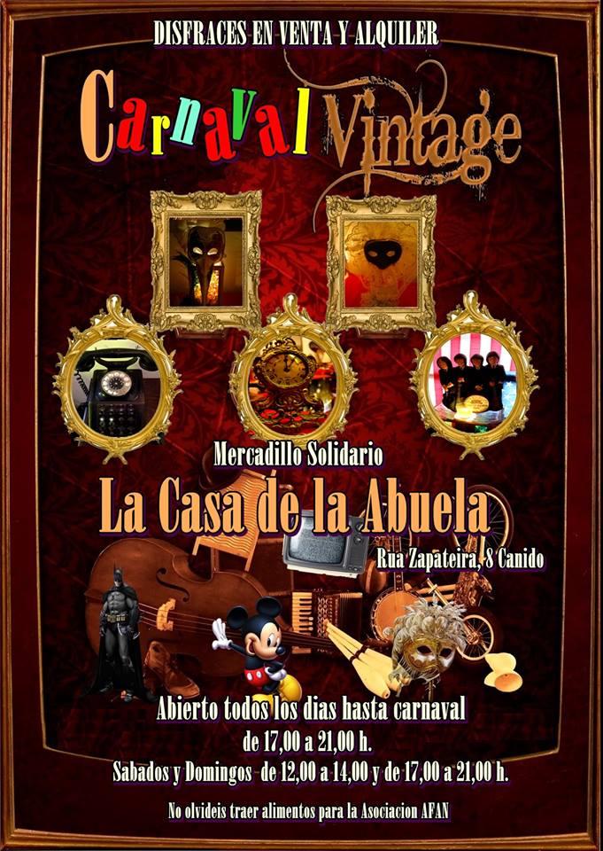 Compra y alquiler de disfraces de carnaval en Vigo