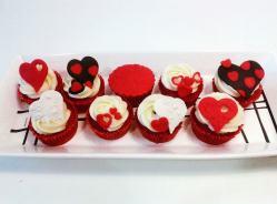 Demostración gratuita de Cupcakes pre San Valentín