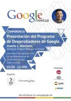Conferencia Google en TELECO