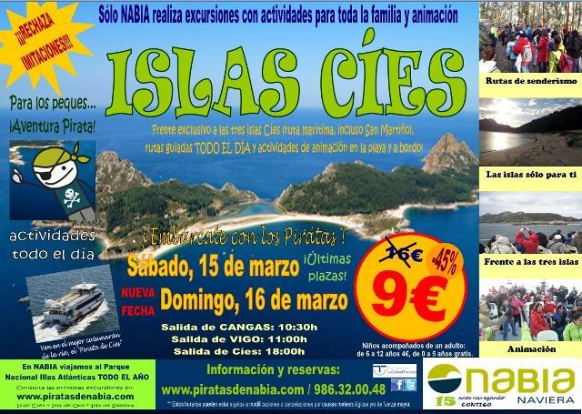 Excursión especial a las Islas Cíes con actividades para toda la familia