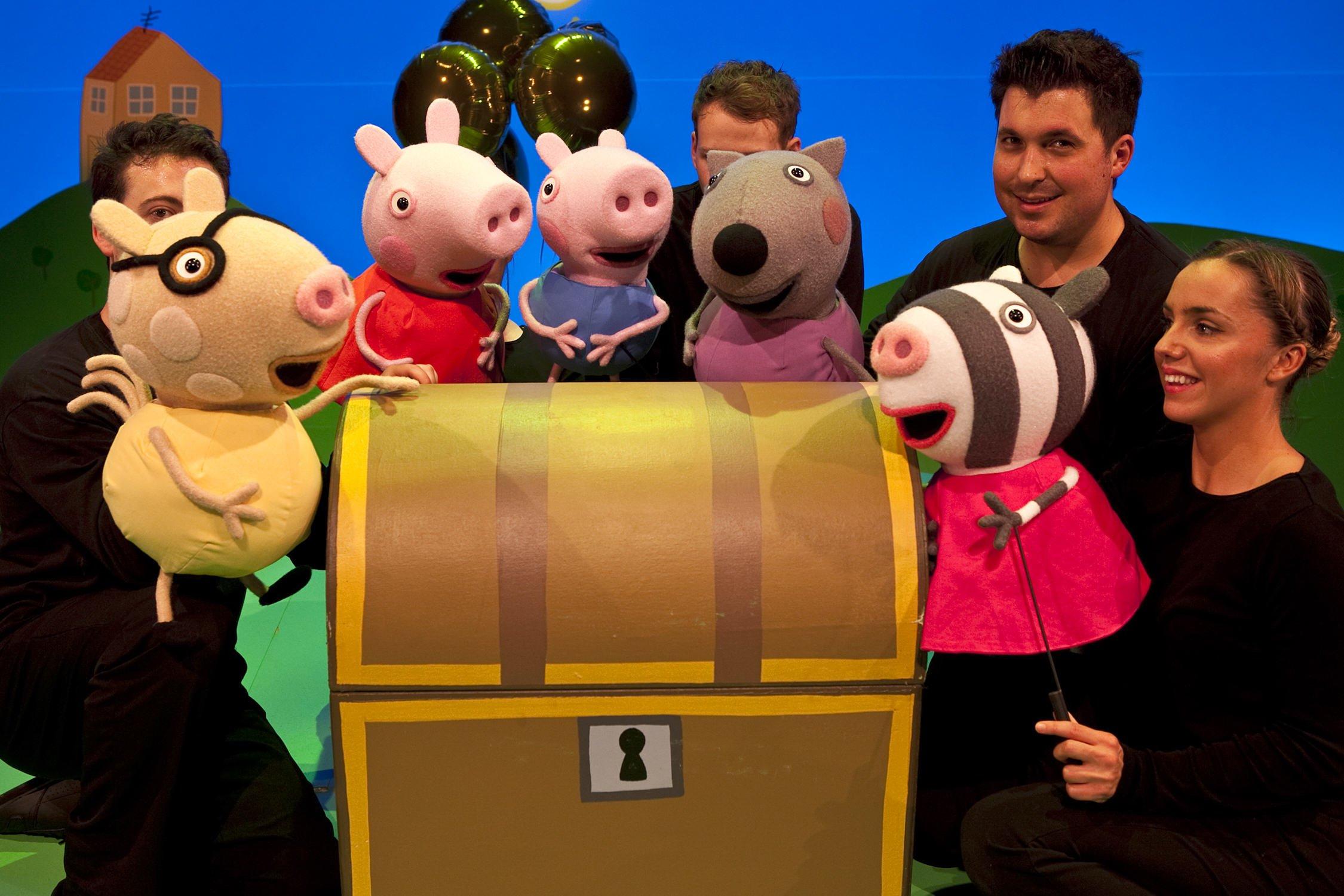Peppa Pig –  La Búsqueda del Tesoro – visitará Vigo el 17 y 18 de mayo