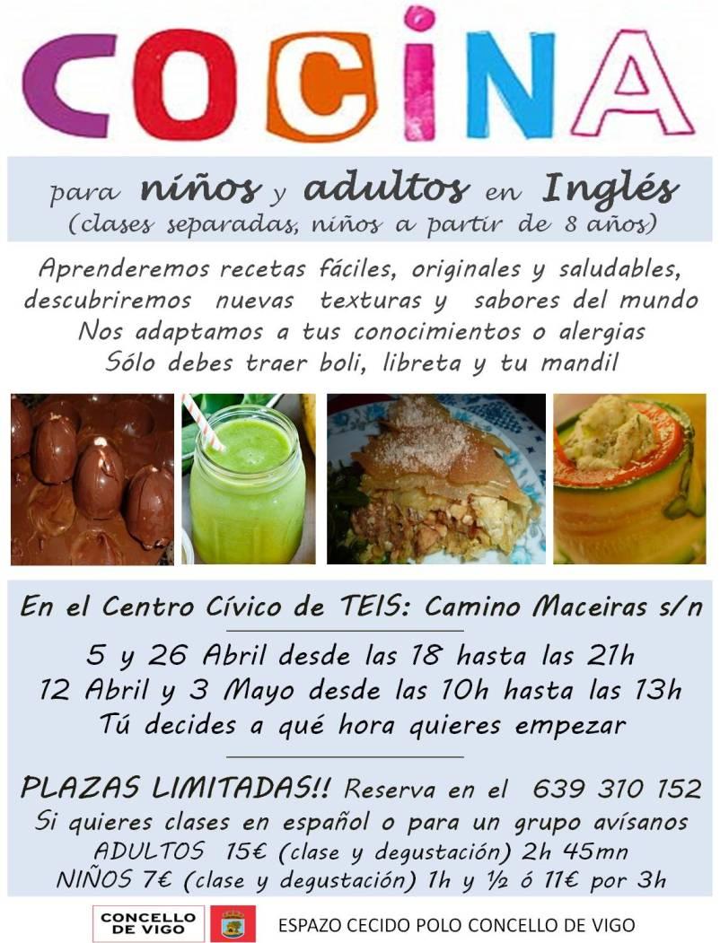 ... Clases De Cocina En Ingl S Para Ni Os Y Mayores Qu   Cursos De Cocina  ...