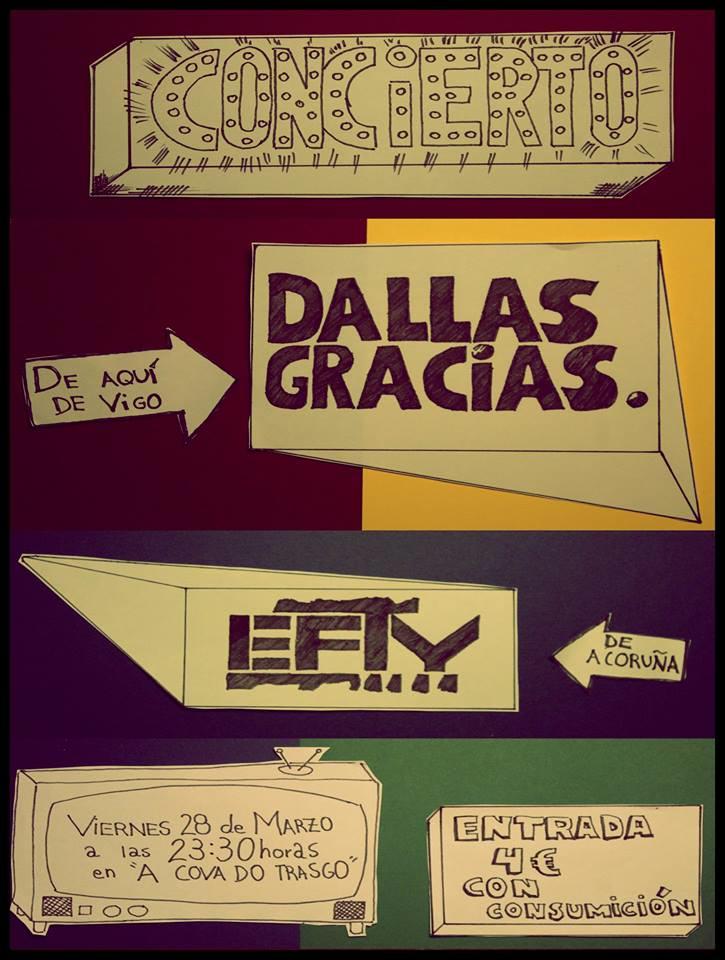 Dallasgracias en concierto