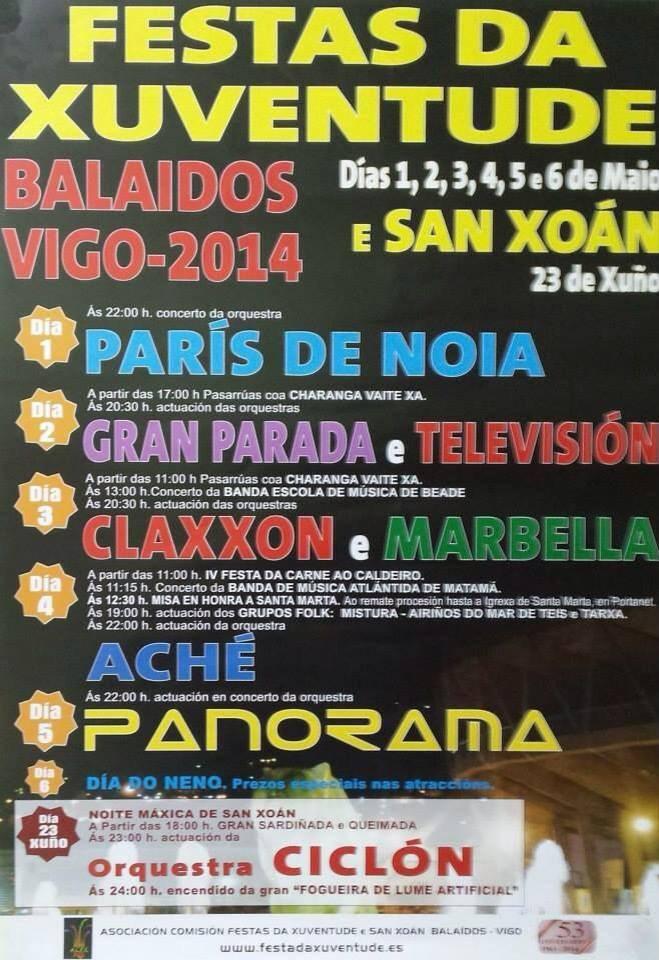 Festa da Xuventude en Balaidos 2014