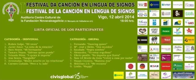 lfestival de la canción en lengua de signos