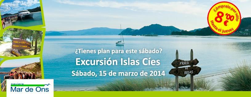 Excursión a las Islas Cíes Low cost