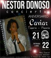 Nestor Donoso en concierto