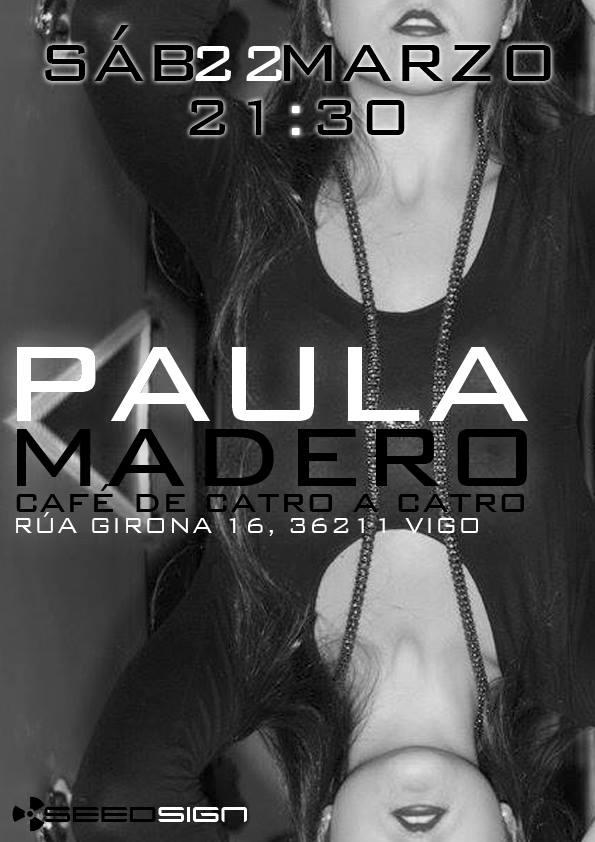 Concierto de Paula Madero