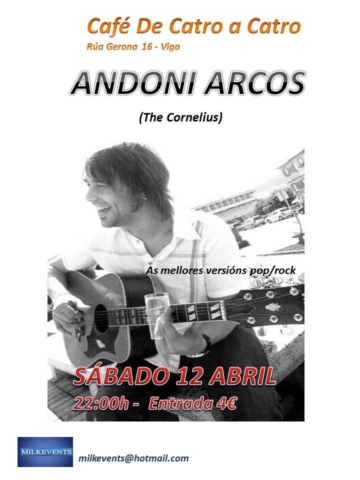 Concierto de Andoni Arcos
