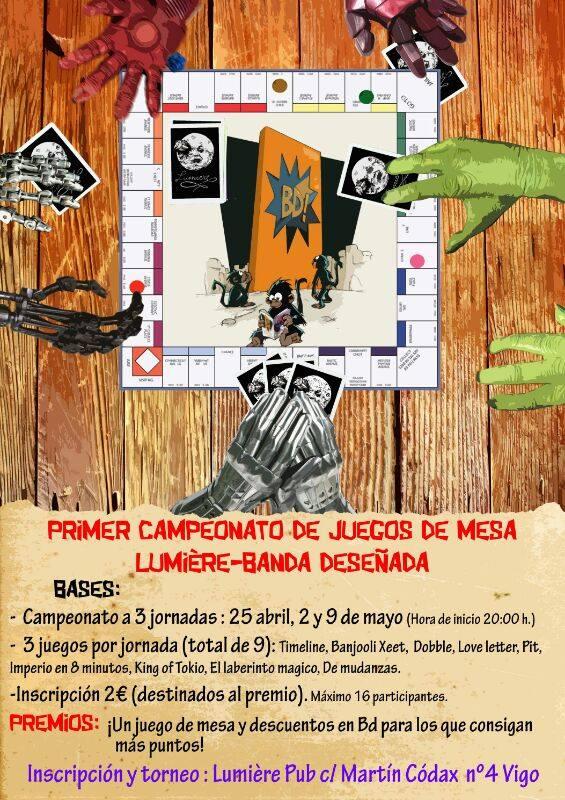 Campeonato de juegos de mesa Lumiére-BD