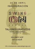 Inauguración Swing On School – Talleres gratuitos