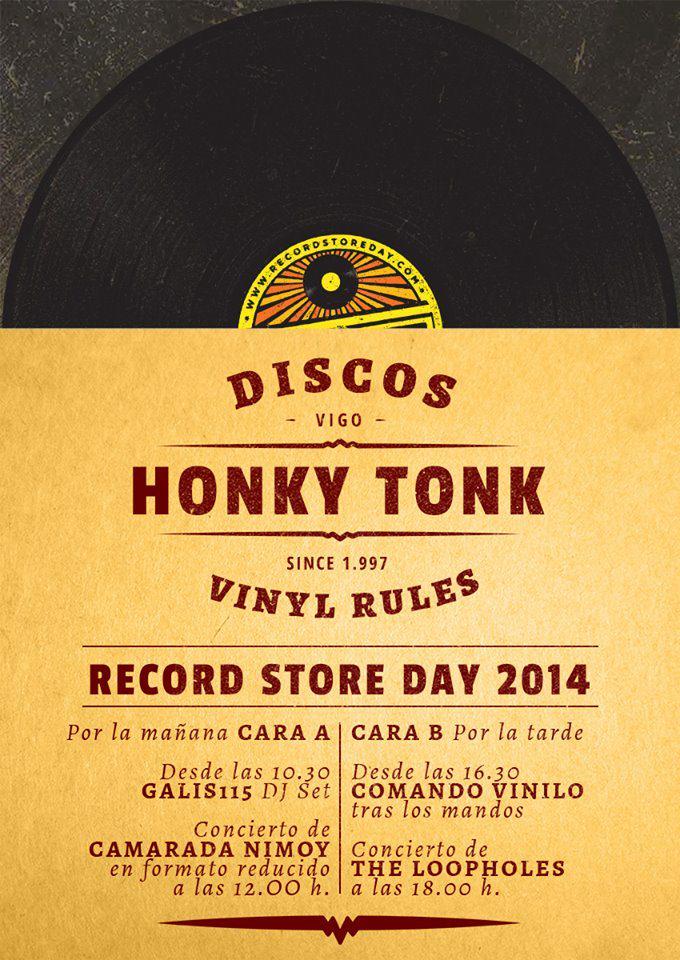 Record Store Day en Honky Tonk Discos