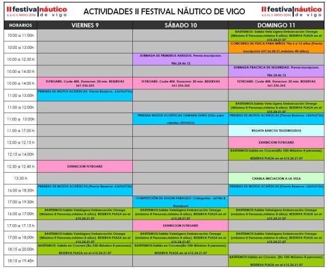 Festival Náutico de Vigo
